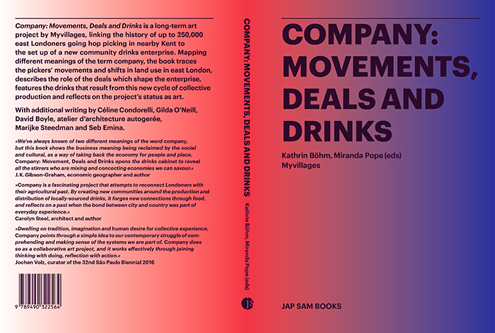 Company Drinks Book, 2016